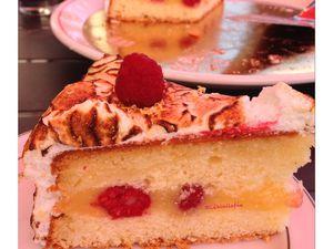 Molly cake framboises citron meringué