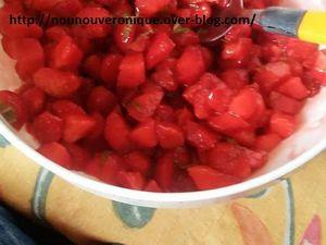 La salade de fraises à la menthe