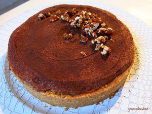 Tarte Divine Chocolat et Caramel