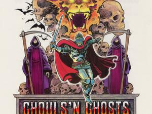 La suite en 1988 de Ghosts'n Goblins : Ghouls'n Ghosts. Tu trouves Dark Souls difficile ? Viens pleurer avec Ghouls'n Ghosts...