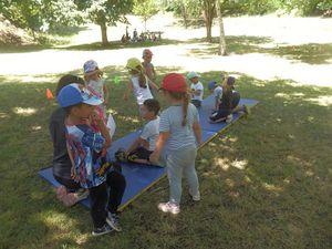 l'activité des enfants
