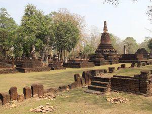 Kamphaeng Phet, où je suis la seule touriste !