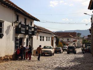 La tranquille Villa de Leyva