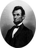 A gauche Abraham Lincoln, à droite William J.H. Boetcker