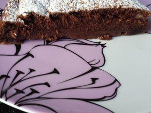 Gâteau magique.