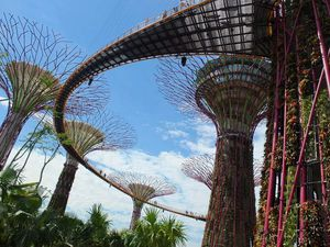 Marina City Park : Singapour-Baie