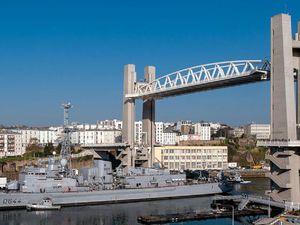 BREST - Pont levant de Recouvrance
