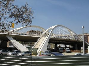 Bac de Roda Bridge-Barcelona