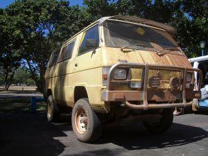 Le van, la maison sur roues du Backpacker. Vous trouverez dans les pages du livre Backpacker Australia toutes les infos nécessaires pour bien choisir le vôtre.