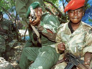 Des enfants soldats à l'est de la RDC