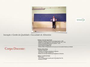 Aprimoramento em Inovação Gestão da Qualidade e Inocuidade de Alimentos - Madrid 2015.