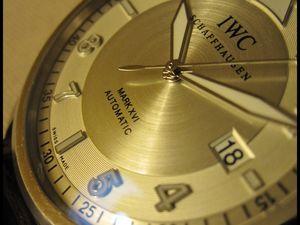 Diamètre des IWC &quot&#x3B;Mark&quot&#x3B;