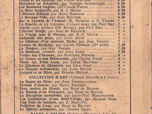 """Renée Dunan """"La Dernière Jouissance"""" (France-édition - 1925)"""