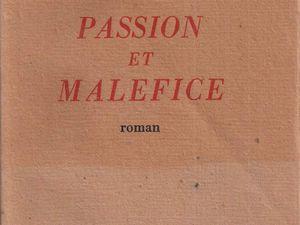 """Annie de Mytho """"Passion et Maléfice"""" (Ophrys - 1948)"""