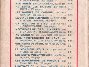 """Renée Dunan """"La Culotte en jersey de soie"""" (Prima - 1933)"""
