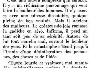 Ouvrages d'André Arnyvelde chroniqués par Renée Dunan (1923/1924)