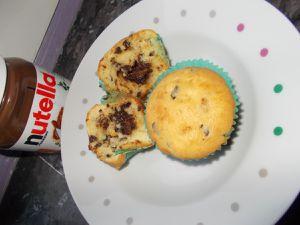 muffin nutella pepites de chocolat