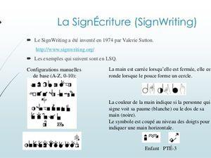 Images tirées des sites http://fr.slideshare.net/ et http://www.signecriture.org