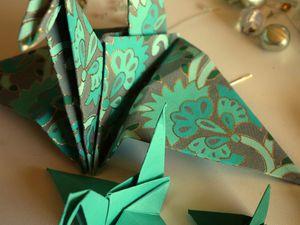 Origami &quot&#x3B;oiseau&quot&#x3B;