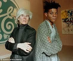Jean-Michel Basquiat et Andy Warhol