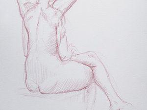 nus féminins en mouvement