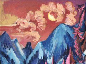 Ernst Ludwig Kirchner -  (Aschaffenburg, 6 maggio 1880 -  Davos, 15 giugno 1938)