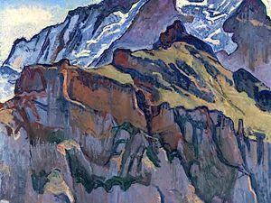Ferdinand Hodler, (Berna, 14 marzo 1853 - Ginevra, 19 maggio 1918)