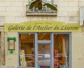 Sandra Grimaud expose ses oeuvres à l'Atelier du Liseron