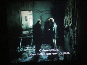 """Extrait  du film """"Stalker"""" et le relevé topographique d'Alexandre Sébastien Gérard"""