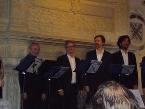 Concert de l'ensemble Clément Janequin et conférences au manoir de la Possonnière