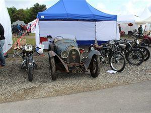 Les motos au Vintage Revival Montlhéry