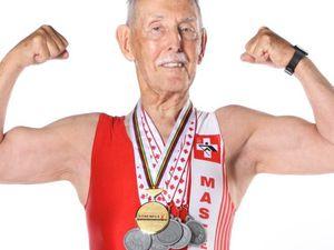 British Masters Championship. Il 95enne Charles Eugster si aggiudica il record del mondo di categoria sui 200 metri piani indoor