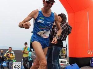 Supermaratona dell'Etna da 0 a 3000 2015 (9^ ed.). Massimo Buccafusca e Lara La Pera sul gradino più alto del podio, ma sono tutti vincitori