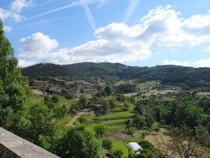 Désaignes, la Batie d'Andaure et la vallée du Doux
