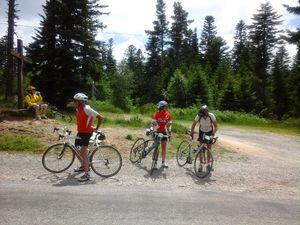 Col du Rouvey (même en roulant très cool j'ai quand même fait mieux que le jour du 600 km !) et Lalouvesc