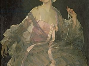Hazel ( Lady Lavery) par le peintre Sir John Lavery