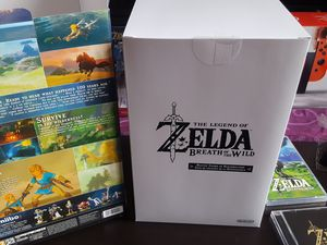 Unboxing Collector Zelda Breath Of The Wild
