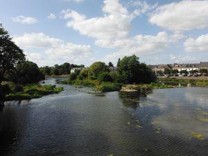 Guipry-Messac et la Vilaine.