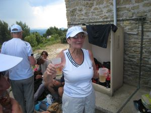 Champagne du pays de Bernard, Feuilletés confectionnés par Monique (Cousin), rien ne manque !