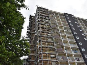 L'avancement du chantier de rénovation de l'immeuble rue de Gascogne avant la vente des 84 appartements
