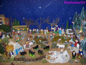 La crèche d'Isabelle de l'Aude (santons)