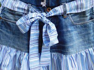 Recycler un jean en tablier de cuisine