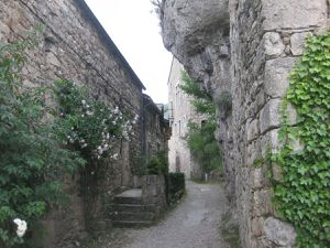 La vieille pierre, les fleurs, la fontaine, la quiétude... Cantobre est aussi un des plus beaux villages de France!