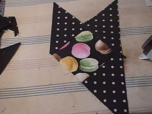 set de table macarrons