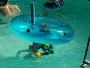 joies de l'ete : la piscine encore
