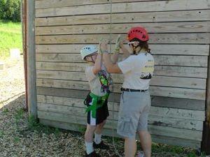 activites scoutes au camp