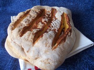 Fougasse orange ou citron confit et cannelle