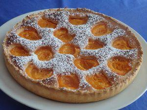 Tarte mousseuse aux abricots
