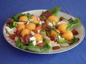 Défi recettes août 2015 – salade d'été