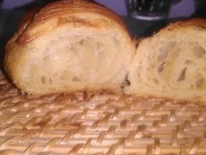 Enfourner vos croissants laisser cuire jusqu'à obtenir une belle couleur